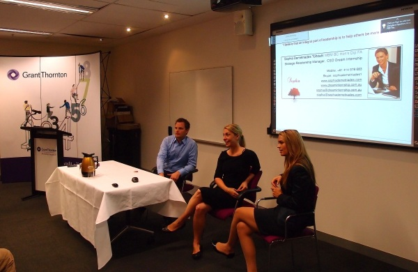 SA Chamber of Commerce Panel Discussion: Per Claesson from Dental Access, Petra Andren from ATP,  Sophia Demetriades from Dream